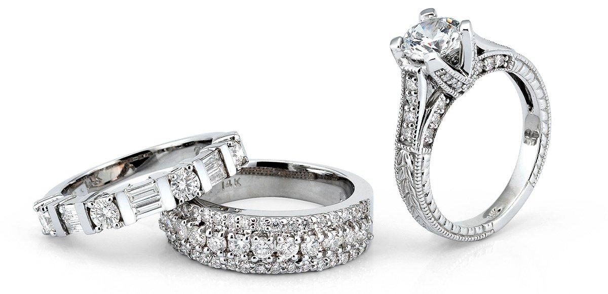 wedding set engagement ring